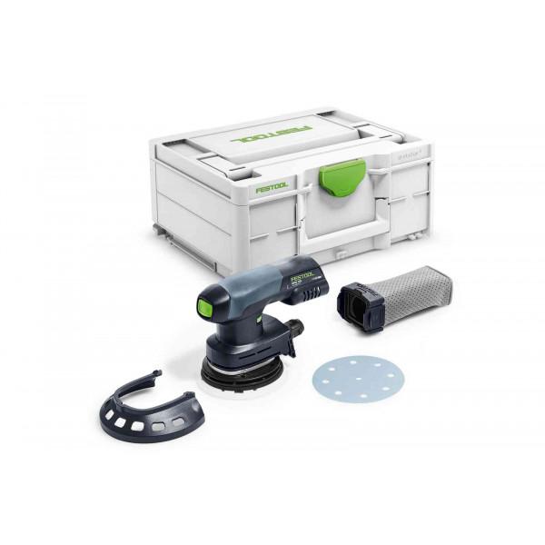 Машинка шлифовальная эксцентриковая аккумуляторная FESTOOL ETSC 125-Basic