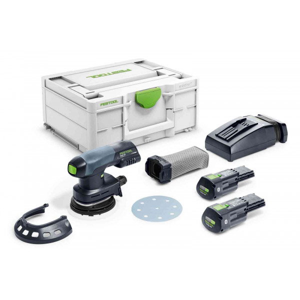 Машинка шлифовальная эксцентриковая аккумуляторная FESTOOL ETSC 125 3,1 I-Plus