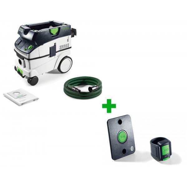 Пылеудаляющий аппарат CLEANTEC FESTOOL CTL 26 E + комплект дистанционного управления CT-F I/M-Set в подарок!