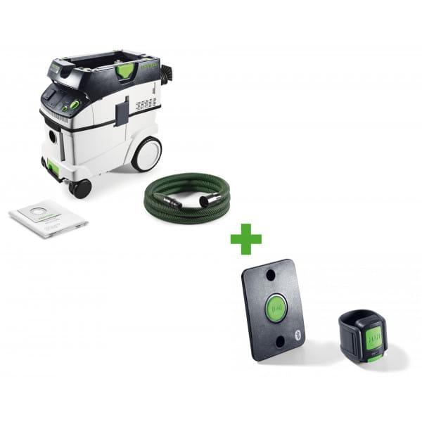 Пылеудаляющий аппарат CLEANTEC FESTOOL CTL 36 E + комплект дистанционного управления CT-F I/M-Set в подарок!