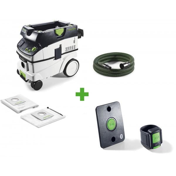 Пылеудаляющий аппарат CLEANTEC FESTOOL CTL 26 E AC + комплект дистанционного управления CT-F I/M-Set в подарок!