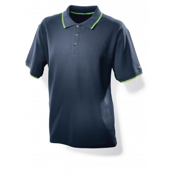 Мужская рубашка поло синяя FESTOOL S