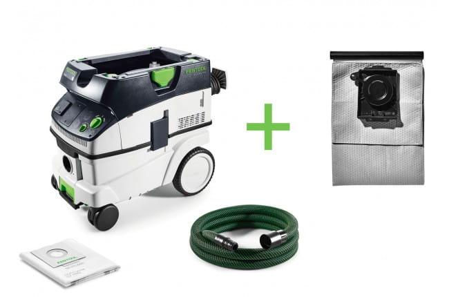 Пылеудаляющий аппарат CLEANTEC FESTOOL CTL 26 E + мешок-пылесборник Longlife-FIS-CT 26 в подарок!