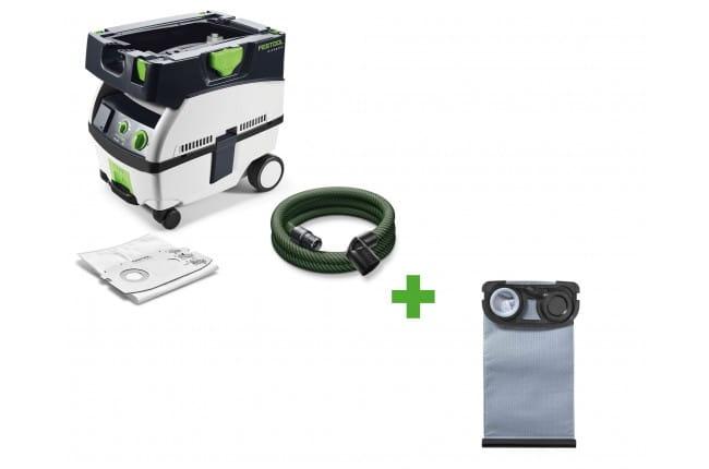 Пылеудаляющий аппарат CLEANTEC FESTOOL CTL MINI 230V + мешок-пылесборник Longlife-FIS-CTL MINI в подарок!