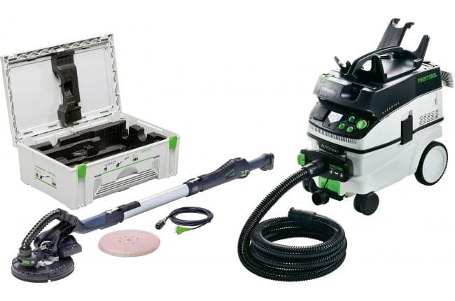 Машинка шлифовальная для стен и потолков PLANEX FESTOOL LHS 225-IP/CTM 36 E AC-Set