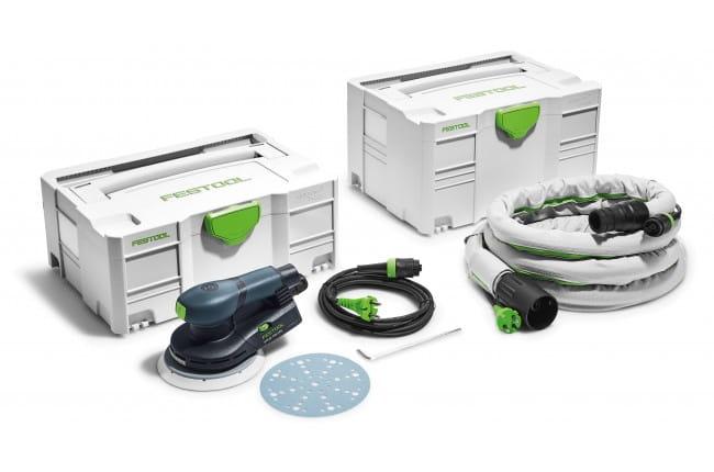 Машинка шлифовальная эксцентриковая электрическая FESTOOL ETS EC 150/3 EQ-Plus-GQ