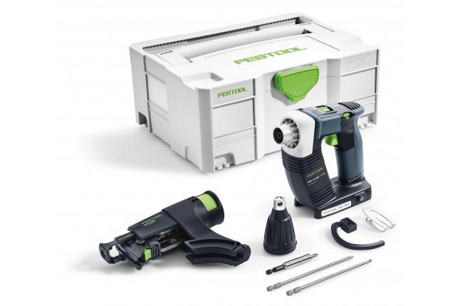 Шуруповерт аккумуляторный для гипсокартона FESTOOL DWC 18-4500 Li-Basic