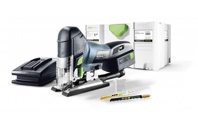 Лобзик маятниковый аккумуляторный CARVEX FESTOOL PSC 420 EB Li 18-Plus