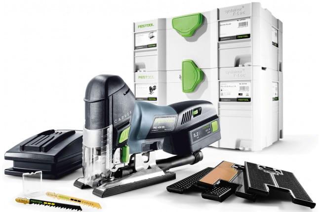 Лобзик маятниковый аккумуляторный CARVEX FESTOOL PSC 420 EB Li 18-Set