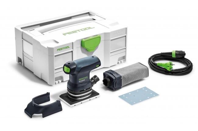 Машинка плоскошлифовальная электрическая RUTSCHER FESTOOL RTS 400 REQ-Plus