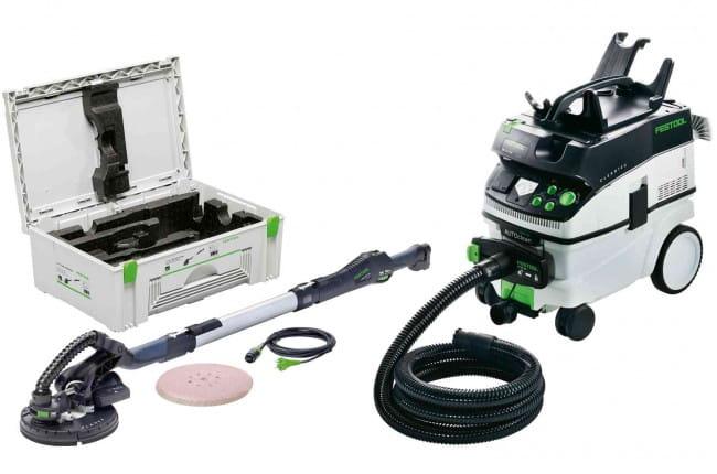 Машинка шлифовальная для стен и потолков FESTOOL PLANEX LHS 225-IP/CTM36-Set