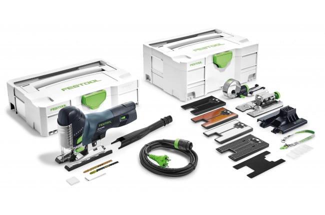 Лобзик маятниковый электрический CARVEX FESTOOL PS 420 EBQ-Set