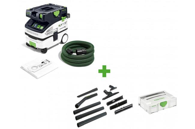 Пылеудаляющий аппарат CLEANTEC FESTOOL CTL MINI I CAMPSet + набор для уборки D 27/D 36 K-RS-Plus в подарок!
