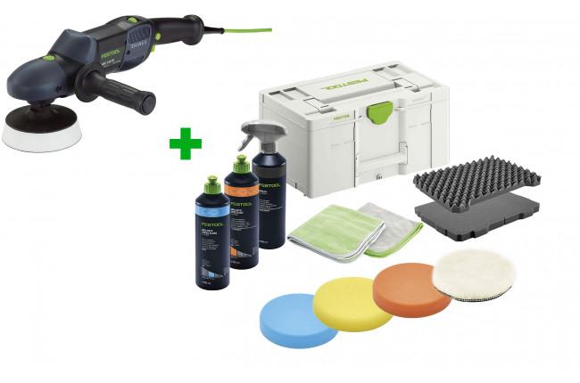 Машинка полировальная ротационная SHINEX FESTOOL RAP 150-14 FE + полировальный комплект в подарок!