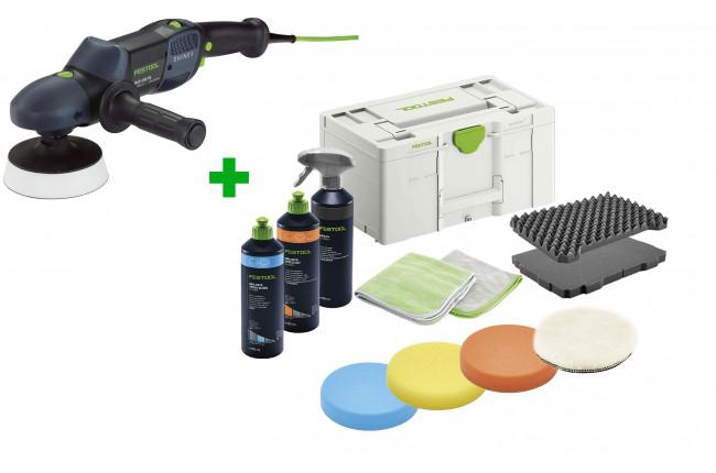 Машинка полировальная ротационная SHINEX FESTOOL RAP 150-21 FE + полировальный комплект в подарок!