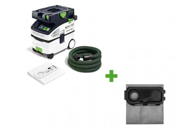 Пылеудаляющий аппарат CLEANTEC FESTOOL CTL MIDI I + мешок-пылесборник Longlife LL-FIS-CT MINI/MIDI-2 в подарок!