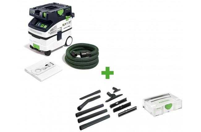 Пылеудаляющий аппарат CLEANTEC FESTOOL CTL MIDI I CAMPSet + набор для уборки D 27/D 36 K-RS-Plus в подарок!