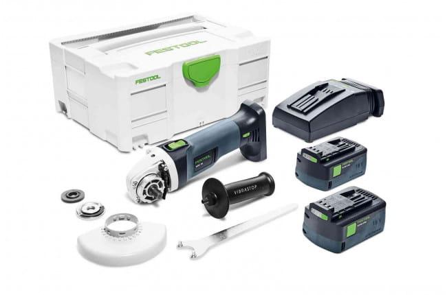 Машинка углошлифовальная аккумуляторная FESTOOL AGC 18-125 Li 5,2 EB-Plus